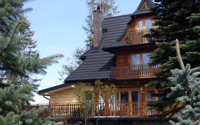 Отель Вилла Antałówka Польша, Закопане - отзывы, цены и фото номеров - забронировать отель Вилла Antałówka онлайн вид на фасад
