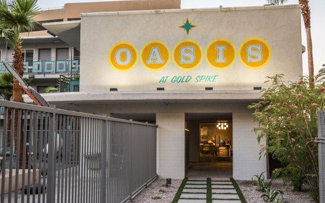 Отель Oasis at Gold Spike США, Лас-Вегас - отзывы, цены и фото номеров - забронировать отель Oasis at Gold Spike онлайн вид на фасад