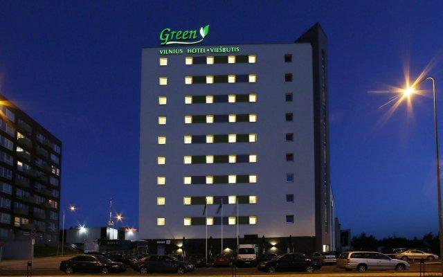 Green Vilnius Hotel Вильнюс вид на фасад
