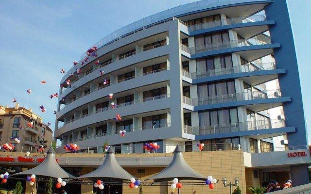 Отель Marieta Palace Болгария, Несебр - 1 отзыв об отеле, цены и фото номеров - забронировать отель Marieta Palace онлайн вид на фасад