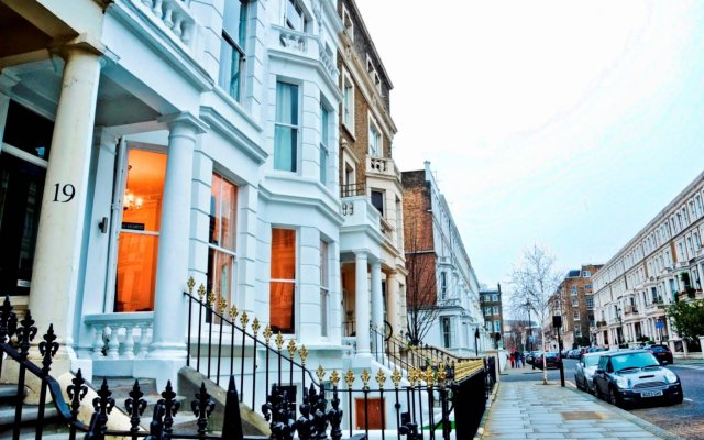 Отель Saint James Backpackers Великобритания, Лондон - отзывы, цены и фото номеров - забронировать отель Saint James Backpackers онлайн вид на фасад