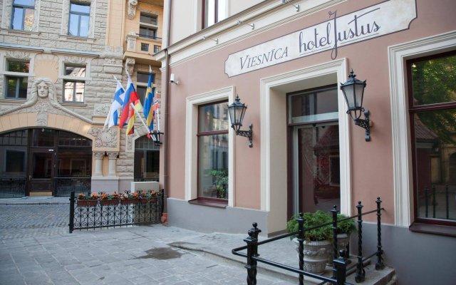 Отель Justus Латвия, Рига - 14 отзывов об отеле, цены и фото номеров - забронировать отель Justus онлайн вид на фасад