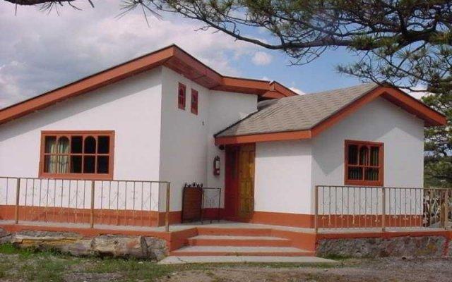Отель Cabañas Sierra Bonita вид на фасад