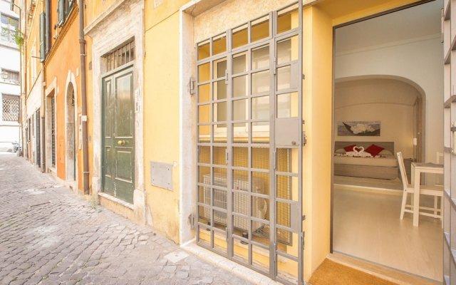 Отель Rental In Rome Studio Pantheon Италия, Рим - отзывы, цены и фото номеров - забронировать отель Rental In Rome Studio Pantheon онлайн вид на фасад