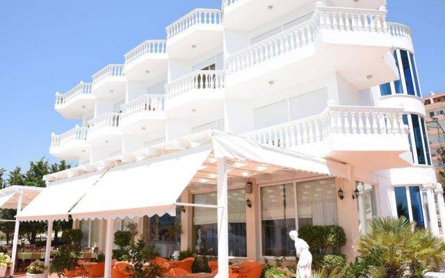 Отель Visad Албания, Саранда - отзывы, цены и фото номеров - забронировать отель Visad онлайн вид на фасад