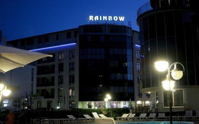 Отель Апарт Отель Рейнбол Болгария, Солнечный берег - отзывы, цены и фото номеров - забронировать отель Апарт Отель Рейнбол онлайн вид на фасад