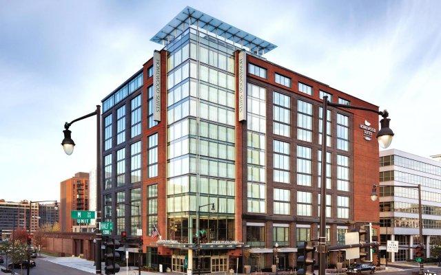 Отель Homewood Suites by Hilton Washington DC Capitol-Navy Yard вид на фасад