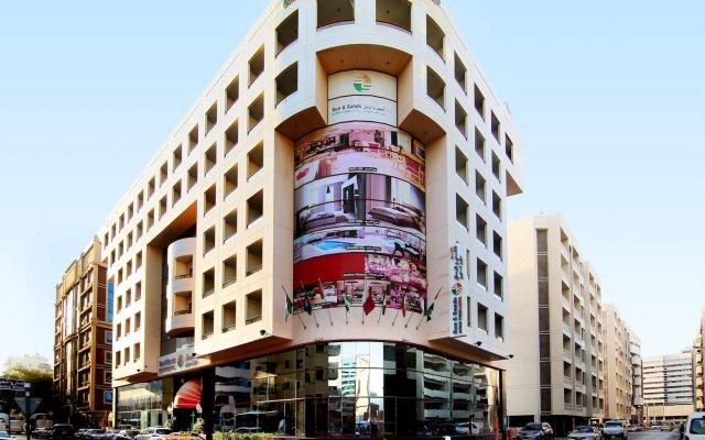 Отель Sun and Sands Downtown Hotel ОАЭ, Дубай - отзывы, цены и фото номеров - забронировать отель Sun and Sands Downtown Hotel онлайн вид на фасад