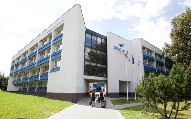 Отель AIRINN Вильнюс вид на фасад