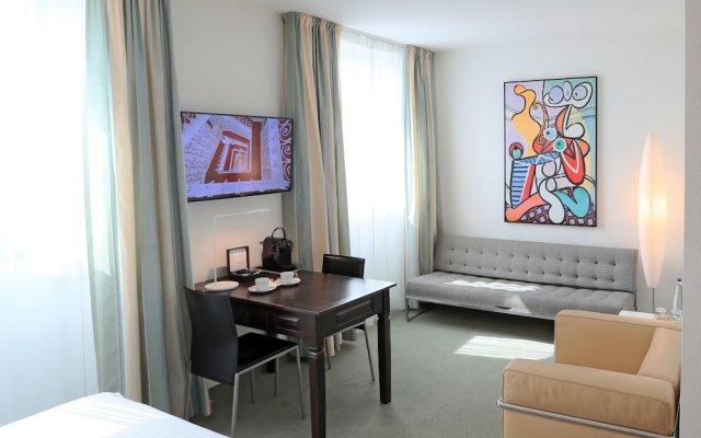 Design Hotel Stadt Rosenheim комната для гостей