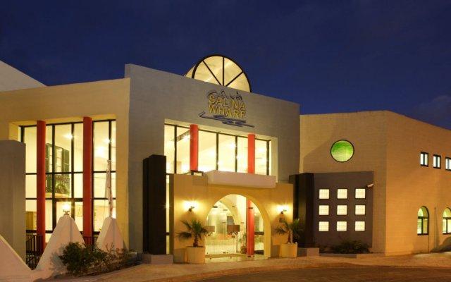 Отель Club Salina Wharf Каура вид на фасад
