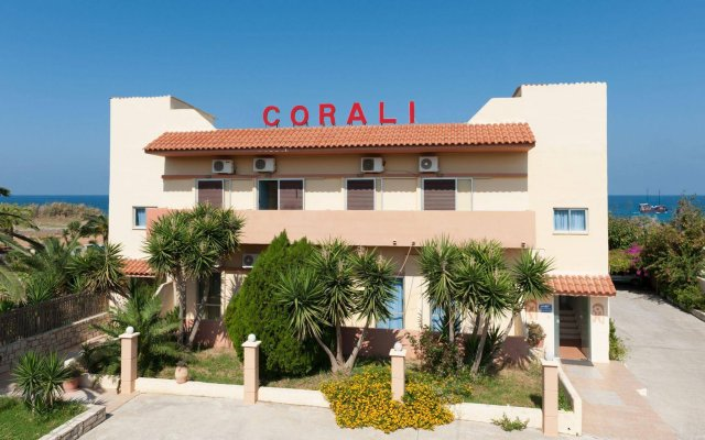 Отель Corali Beach вид на фасад