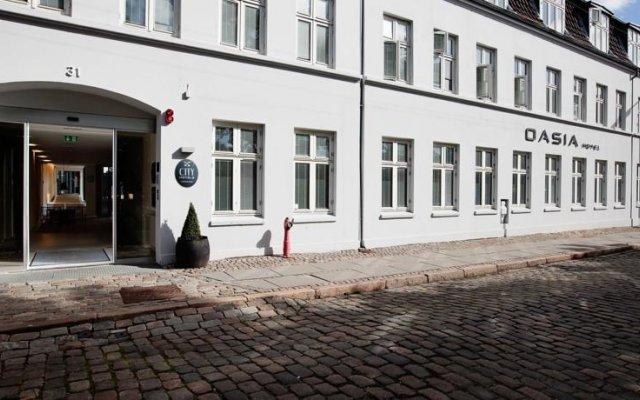 Отель City Hotel Oasia Дания, Орхус - отзывы, цены и фото номеров - забронировать отель City Hotel Oasia онлайн вид на фасад