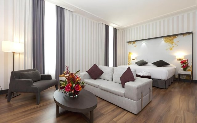 Отель Palacio San Martin Мадрид комната для гостей