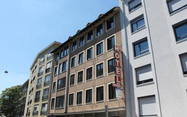 Отель Fackelmann Германия, Нюрнберг - 2 отзыва об отеле, цены и фото номеров - забронировать отель Fackelmann онлайн вид на фасад