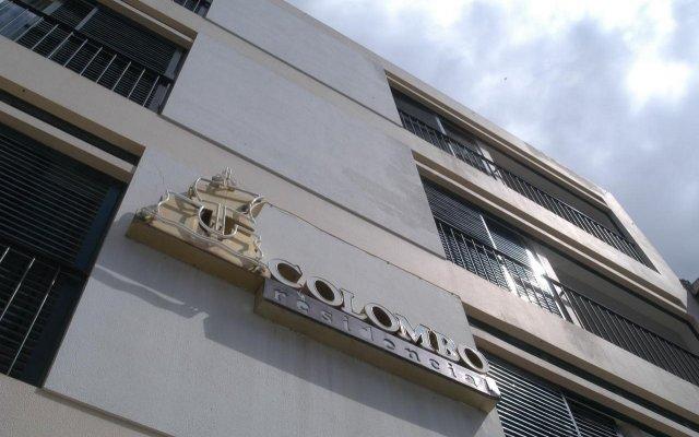 Мини-отель Residencial Colombo вид на фасад