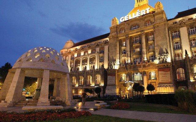 Отель Danubius Hotel Gellert Венгрия, Будапешт - - забронировать отель Danubius Hotel Gellert, цены и фото номеров вид на фасад