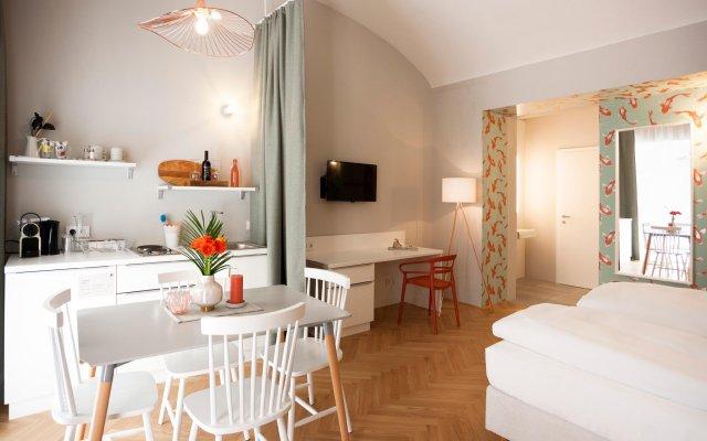 Отель grätzlhotel Neubau Австрия, Вена - отзывы, цены и фото номеров - забронировать отель grätzlhotel Neubau онлайн комната для гостей