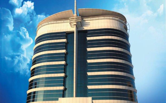 Отель Grand Excelsior Bur Dubai Дубай вид на фасад