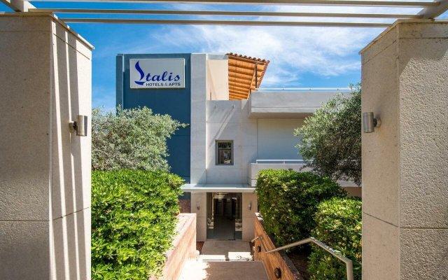 Отель Stalis Blue Sea Front Deluxe Rooms вид на фасад