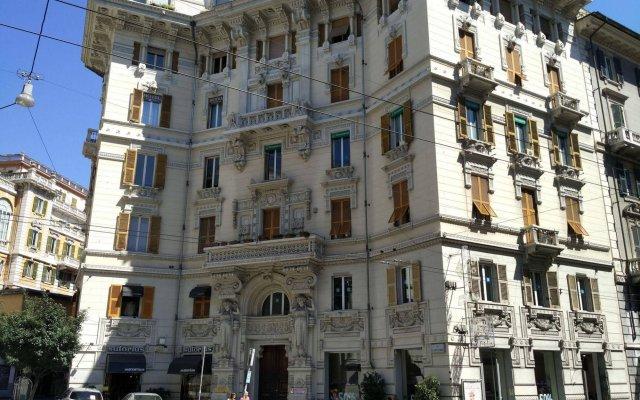 Отель Genova Генуя вид на фасад