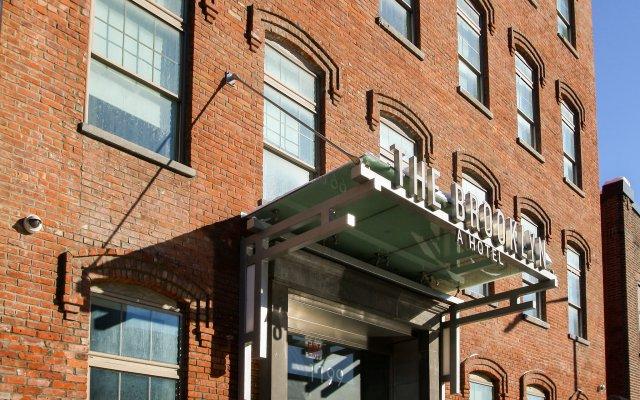 Отель The Brooklyn США, Нью-Йорк - отзывы, цены и фото номеров - забронировать отель The Brooklyn онлайн вид на фасад