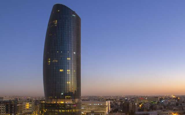 Отель Amman Rotana Иордания, Амман - 1 отзыв об отеле, цены и фото номеров - забронировать отель Amman Rotana онлайн вид на фасад