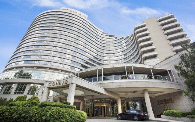 Conrad Istanbul Bosphorus Турция, Стамбул - 3 отзыва об отеле, цены и фото номеров - забронировать отель Conrad Istanbul Bosphorus онлайн вид на фасад