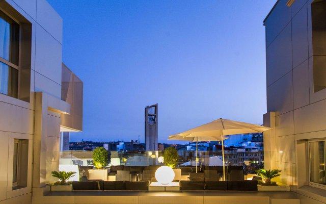 Отель Plaza Испания, Ла-Корунья - отзывы, цены и фото номеров - забронировать отель Plaza онлайн вид на фасад