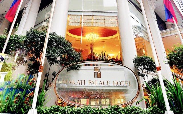 Makati Palace Hotel вид на фасад