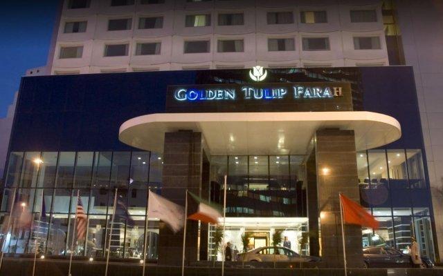 Отель Farah Casablanca вид на фасад
