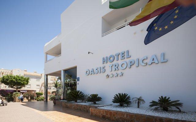 Отель Best Oasis Tropical Гарруча вид на фасад