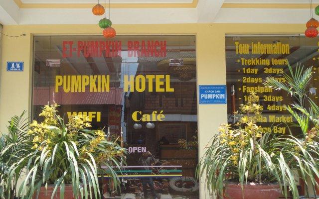 Pumpkin Hotel вид на фасад