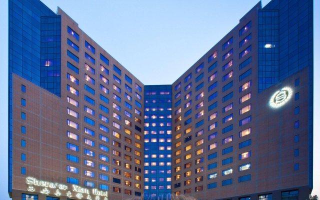Отель Sheraton Xian Hotel Китай, Сиань - отзывы, цены и фото номеров - забронировать отель Sheraton Xian Hotel онлайн вид на фасад