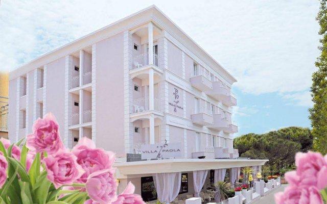 Отель Villa Paola Италия, Римини - отзывы, цены и фото номеров - забронировать отель Villa Paola онлайн вид на фасад