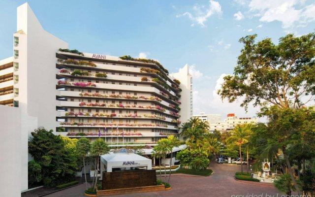 Отель Avani Pattaya Resort вид на фасад