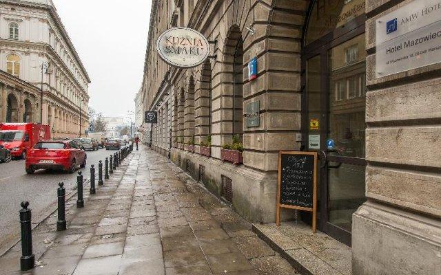 Отель P&O Apartments Mazowiecka Польша, Варшава - отзывы, цены и фото номеров - забронировать отель P&O Apartments Mazowiecka онлайн вид на фасад