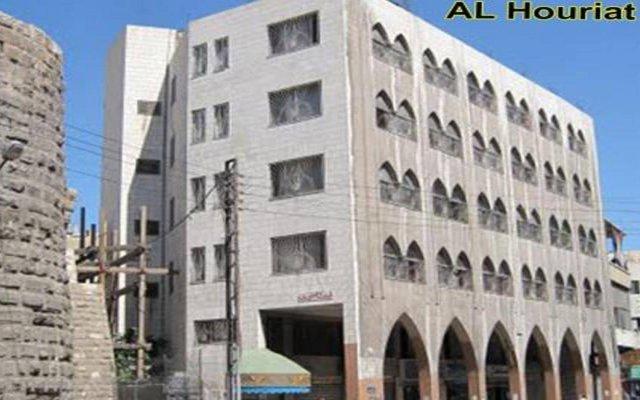 Отель Al-Houriat Hotel Иордания, Амман - отзывы, цены и фото номеров - забронировать отель Al-Houriat Hotel онлайн вид на фасад