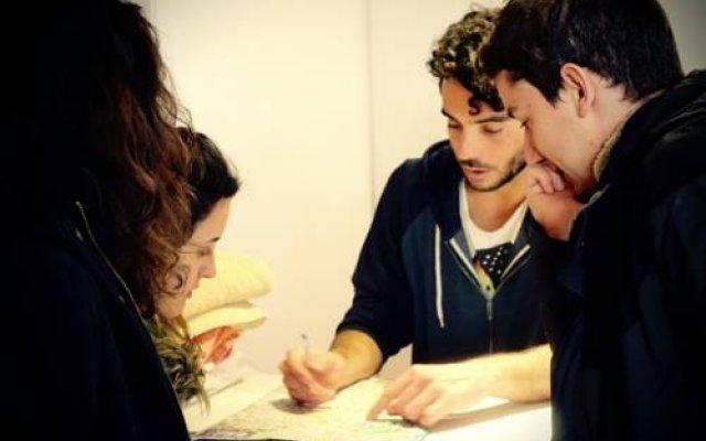 Albareda Youth Hostel Барселона питание