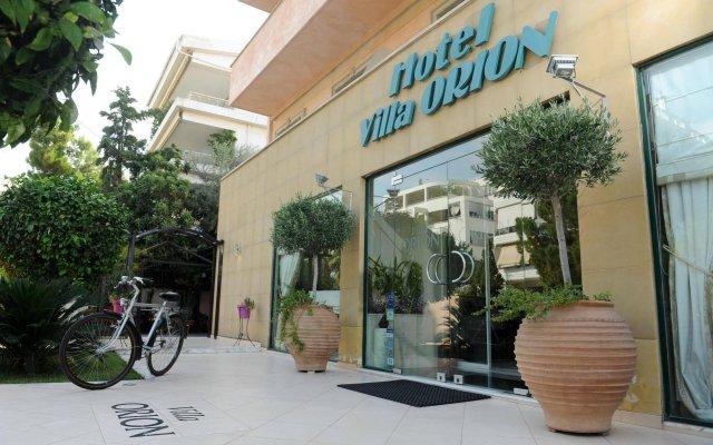 Отель Villa Orion Hotel Греция, Афины - отзывы, цены и фото номеров - забронировать отель Villa Orion Hotel онлайн вид на фасад