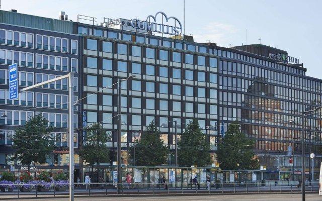 Отель Cumulus Hakaniemi вид на фасад