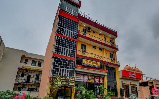 OYO 18320 Hotel Utsav вид на фасад