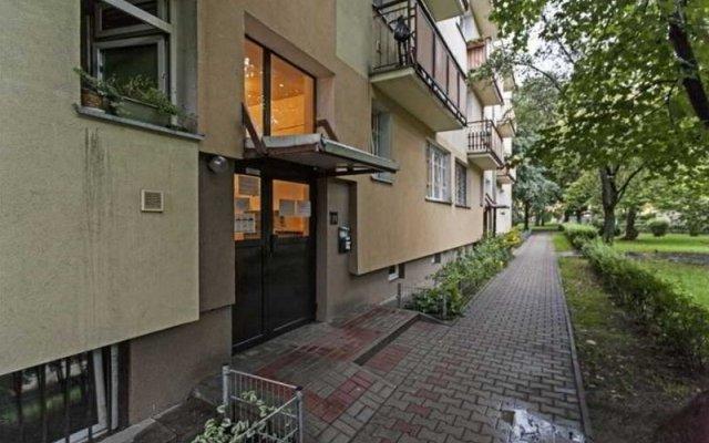 Отель P&O Apartments Niska Польша, Варшава - отзывы, цены и фото номеров - забронировать отель P&O Apartments Niska онлайн вид на фасад