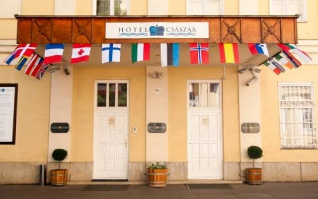 Отель Csaszar Aparment Budapest Будапешт вид на фасад