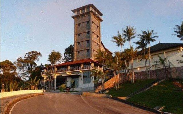 Отель DCoconut Hill Resort вид на фасад