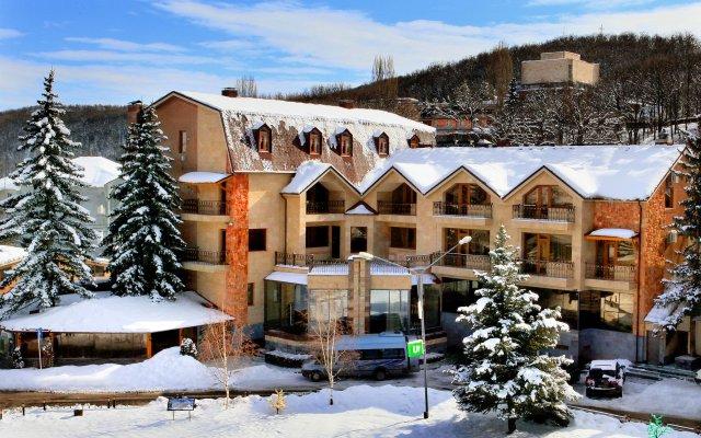 Отель Jupiter hotel Армения, Цахкадзор - 2 отзыва об отеле, цены и фото номеров - забронировать отель Jupiter hotel онлайн вид на фасад