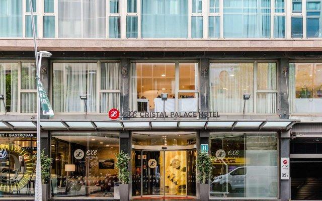 Отель Exe Cristal Palace Испания, Барселона - 12 отзывов об отеле, цены и фото номеров - забронировать отель Exe Cristal Palace онлайн вид на фасад