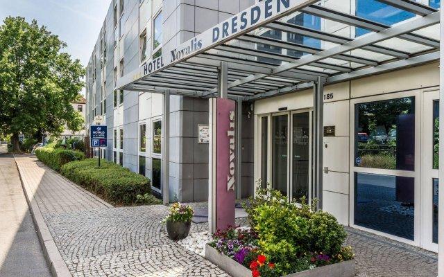 Отель Novalis Dresden Германия, Дрезден - 4 отзыва об отеле, цены и фото номеров - забронировать отель Novalis Dresden онлайн вид на фасад