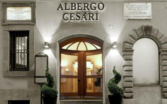 Отель Albergo Cesàri Италия, Рим - 2 отзыва об отеле, цены и фото номеров - забронировать отель Albergo Cesàri онлайн вид на фасад