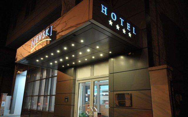 Отель Nevski Hotel Сербия, Белград - 1 отзыв об отеле, цены и фото номеров - забронировать отель Nevski Hotel онлайн вид на фасад